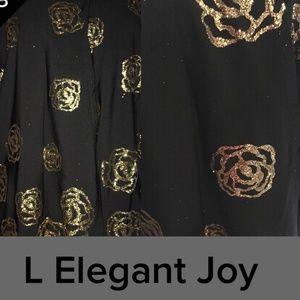 LULAROE LARGE ELEGANT JOY